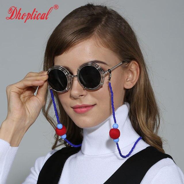 Livraison gratuite lunettes de soleil chaîne, lunettes cordon mode  becautiful lunettes corde B060 perle + 91530255b4eb