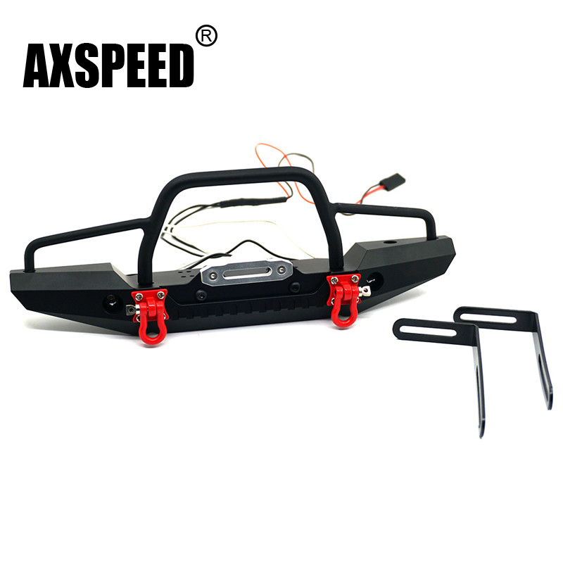1PC TRX4 Metal Front Bumper for TRAXXAS TRX4 TRX-4 1/10 RC Crawler Car #A Free shipping metal front bumper for 1 10 traxxas trx4 d110 rc crawler car part