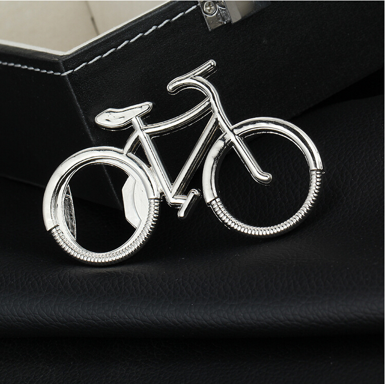 1PCS Cute MTB Bike Bicycle Metal Beer Bottle Opener Keychain Key Rings For Bike Lover Biker  Creative Gift For Cycling