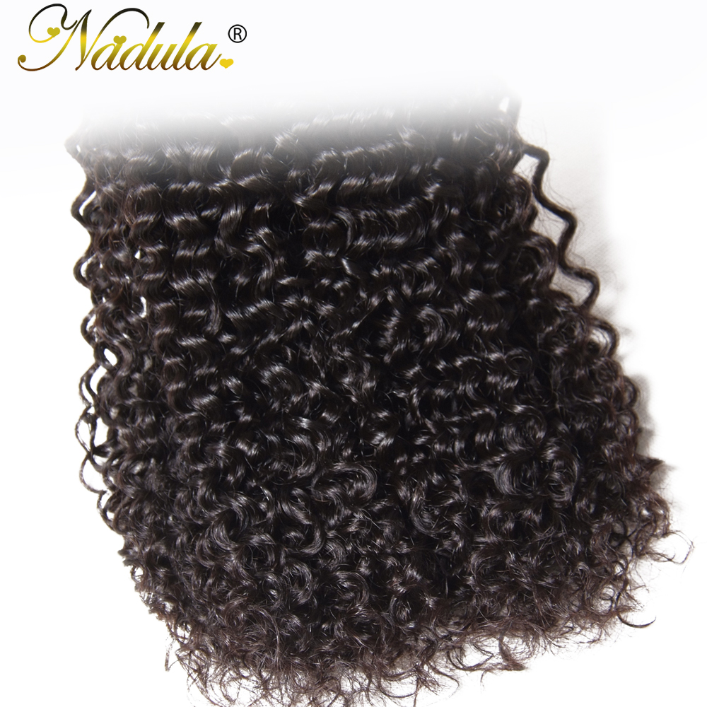 Nadula Hair  Curly Hair  Bundles 8-26inch Can be mixed  Hair 100%  Natural Color Can Be Dyed 6
