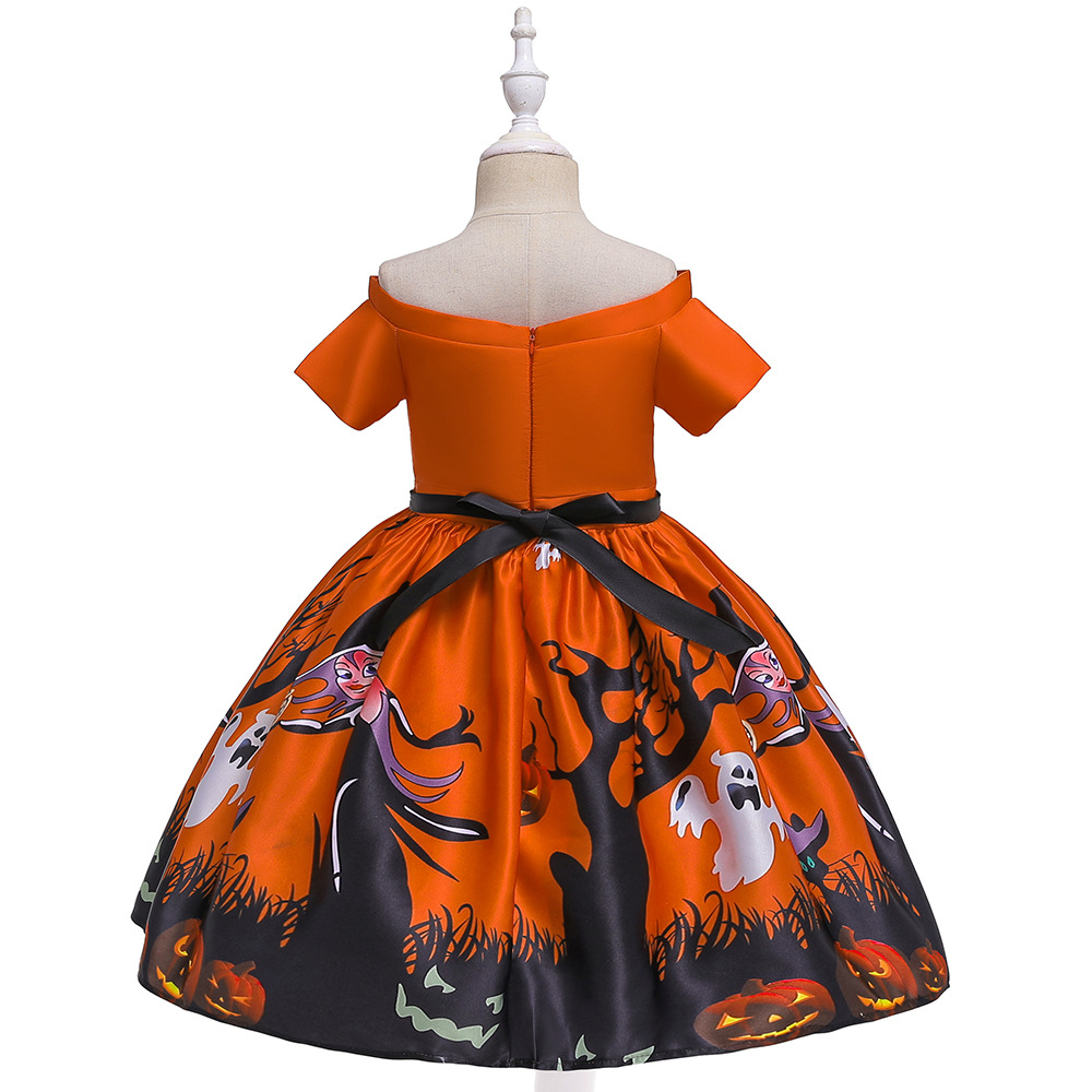 Girls Dresses For Kids 2019 Halloween Cosplay Party Dress Clothes Teens Princess Dress Hat Children Christmas Carnival Dresses (20)