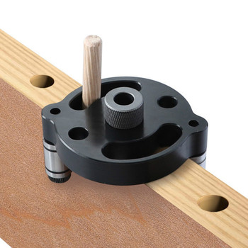 Agujero De Bolsillo Vertical Jig 6/8/10mm Agujero Puncher Localizador Jig Madera Pasador Auto Centrador Taladro Guía Kit Para Herramientas De Carpintería