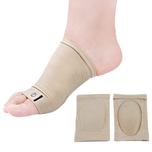 1 Pair Foot Arch Support Plantar Fasciitis Heel Pain Aid Run-up Pad Feet Cushioned Shoes Insole