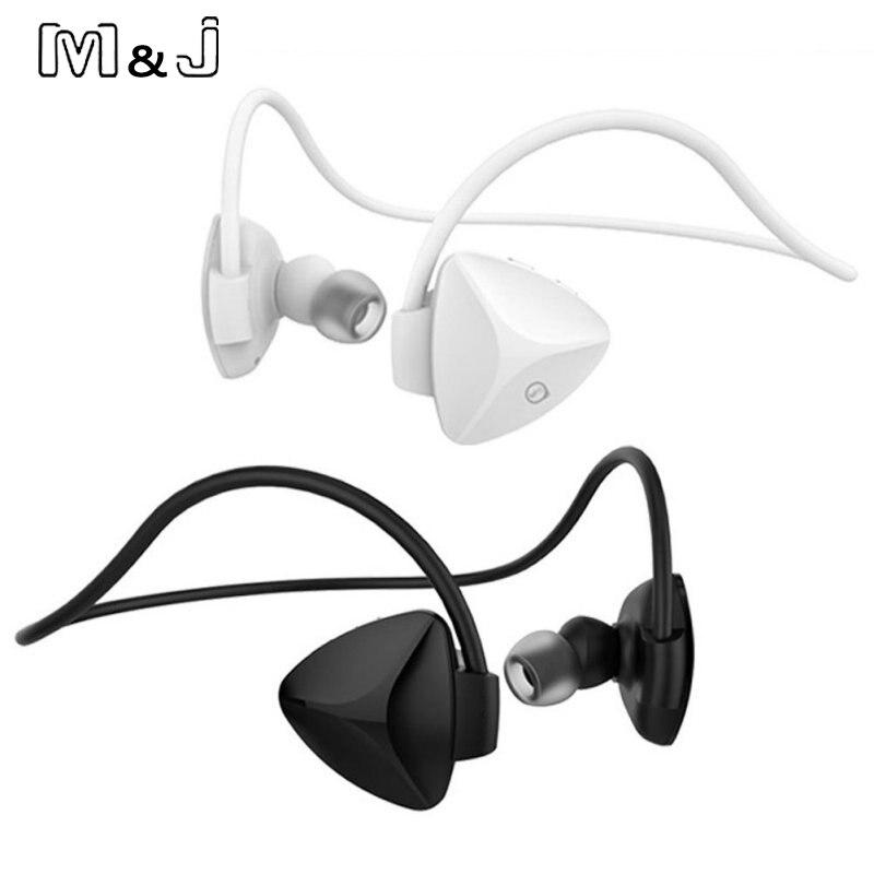 bilder für M & J SH03D Drahtlose Bluetooth 4,0 Headset Stereo NFC Freisprechfunktion Sport Kopfhörer Voice Erinnerung Sweatproof Selbstauslöser