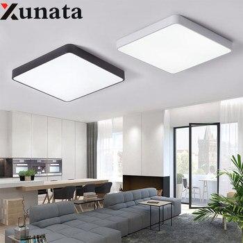 Platz/Runde Led-deckenleuchte Moderne Lampe Wohnzimmer Beleuchtung Leuchte  Schlafzimmer Küche Oberfläche Montieren Flush Panel lampara techo