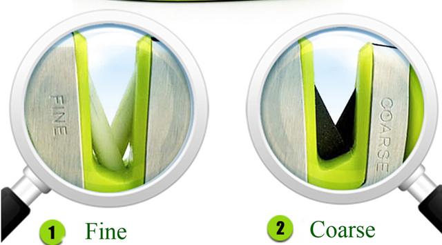 FINDKING brand Two Stages (Diamond & Ceramic) Kitchen Knife Sharpener ,Sharpening Stone Household Knife Sharpener Kitchen Tools