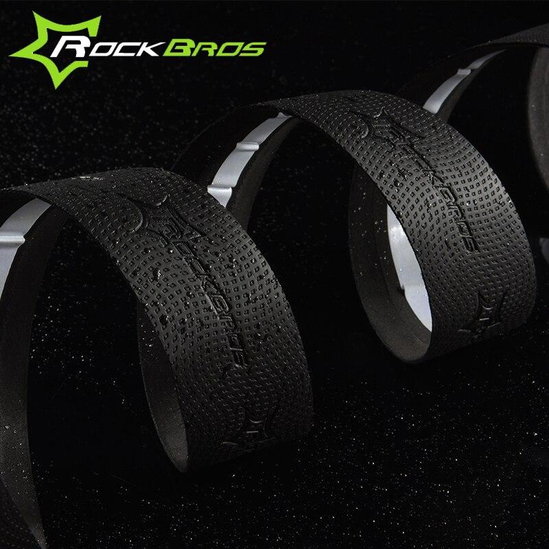 Rockbros Bicycle Handlebar Tape Anti-sweat Anti-slip Road Cycling Bike Handlebar Tape Wrap Bent Bar Bike Accessories 4 Colors