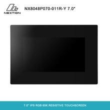 NEXTION 7.0 Nextion inteligentna seria NX8048P070 011R Y HMI IPS RGB 65K rezystancyjny ekran dotykowy z obudową