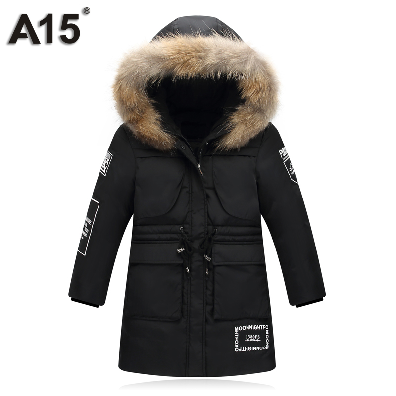 31e9def60d18 Aliexpress.com   Buy A15 Brands Fashion Duck Down Jacket for Girl ...