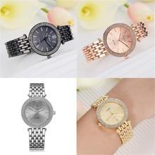 Creative Montre Femmes montre À Quartz Horloge Dames Robe Cadeau relogio feminino De Luxe femmes en céramique cristal montres en gros