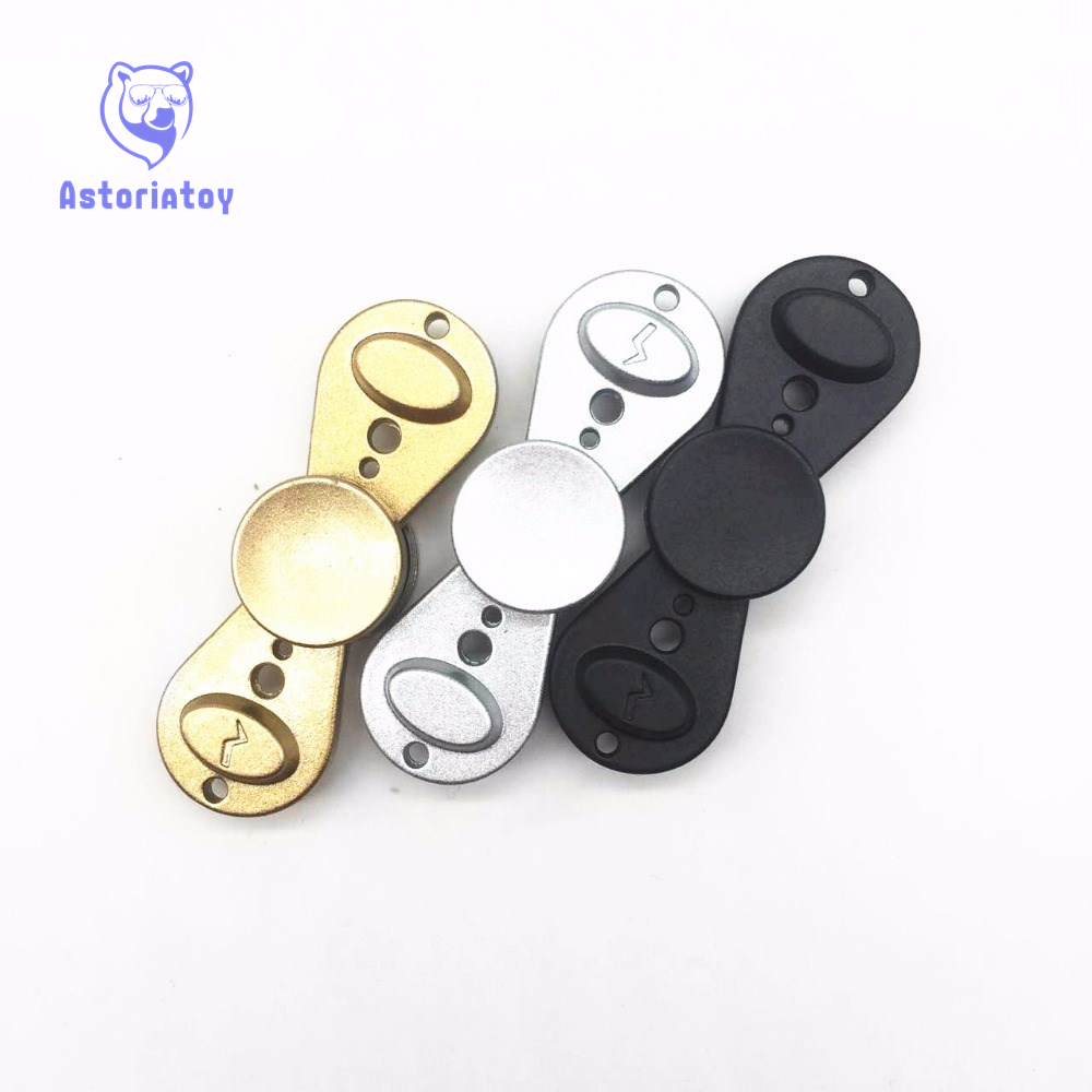 Fidget Hand Spinner angle Torqbar Aluminum alloy Puzzle Finger Toy EDC Focus Fidget Spinner Rotate up 3 minutes