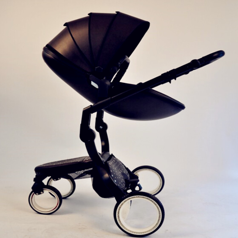 Doux Bebe Finfin  Hot Mima Mom Spacewalk Sky Visor Two-way Can Lie Can Sit Folding Shock Absorber High Landscape Baby Stroller