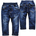 3978 pantalones vaqueros del bebé pantalones vaqueros de los bebés pantalones casuales azul ropa de los niños pantalones pantalones de mezclilla suave nuevo