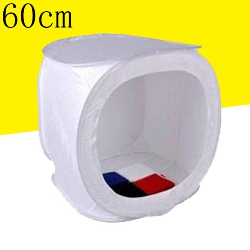 24x24 pulgadas/60 cm x 60 cm Photo Studio Shooting Tent Light Cube Caja de Difus