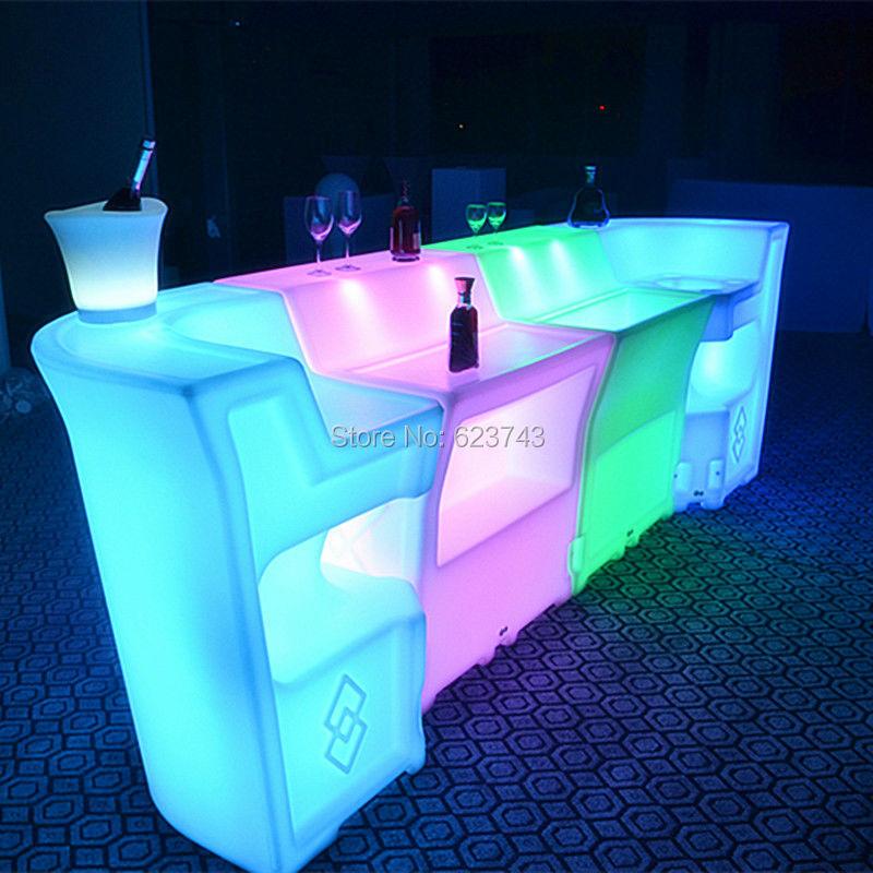 LED BAR Lumineux Table 13
