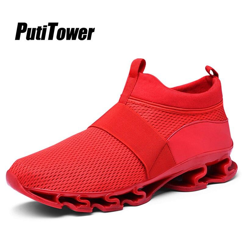 0fdddbcc Calidad Hombre Slip Entrenadores 878 White Transpirable Más Casual Alta Red  Mens Nuevo 878 Chaussure 878 Black on Tamaño Homme Zapatillas Zapatos De ...