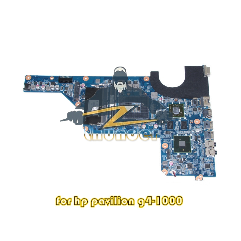 DA0R12MB6E0 636372-001 For HP Pavilion G4 G4-1000 Laptop motherboard HM55 DDR3 HD6470M Video Card