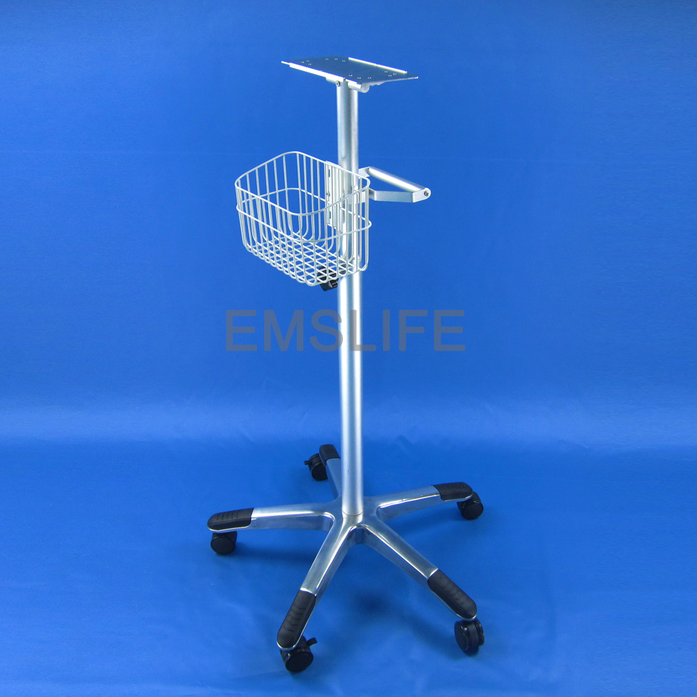 Chariot de moniteur de support de roulement de moniteur patientChariot de moniteur de support de roulement de moniteur patient