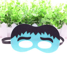 Mask Hulk Super Hero Glasses Kids Boy Girl Costume Star Wars Bean sprouts Xmas Avengers DIY Masquerade Eye Cosplay