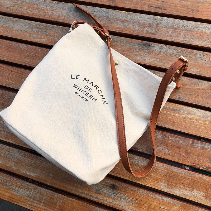 Ausdauernd New Reusable Einkaufstasche Shopper Taschen Frauen Handtasche Brief Tuch Weiß Einkaufstüte Tote Eco Leinwand Taschen Stoff Bolso Lona B32 Funktionale Taschen