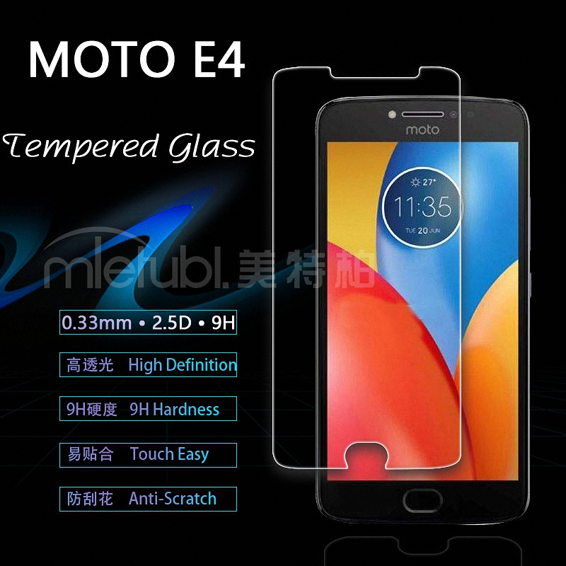 for <font><b>Motorola</b></font> Moto <font><b>E4</b></font> Plus Tempered Glass Screen Protector Film for <font><b>Motorola</b></font> Moto <font><b>E4</b></font> (for Moto E 4th Gen) <font><b>XT1762</b></font> glass Protective image
