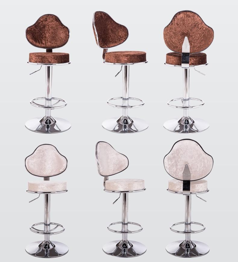 hotel coffee stool European style chair villa bar home chair american bar chair the foot stool front desk chair coffee chair
