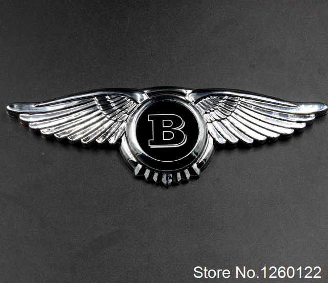 Get Ations Asian Order Modified Metal Car Stickers Angel Wings Logo Eagle Gold
