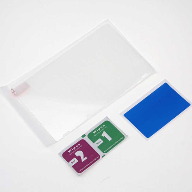 ل التبديل NS SXPro عصا تحكم تناظرية ثلاثية الأبعاد قبعات السيليكون الإبهام السيطرة ل نينتندو التبديل وحدة واقي للشاشة خفف زجاج عليه طبقة غشاء رقيقة