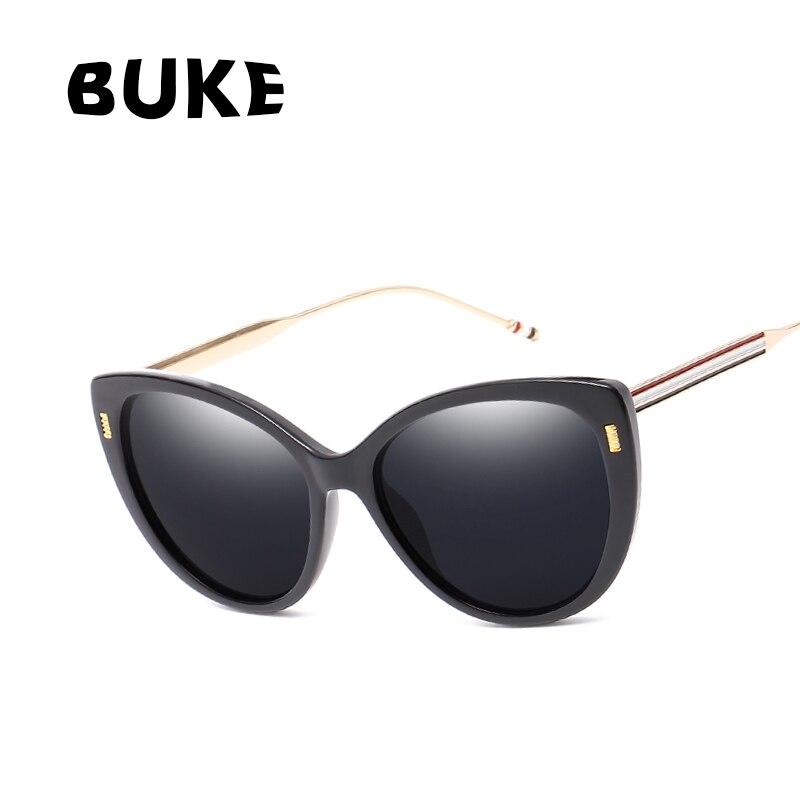 BUKE Retro Rahmen Katzenaugen sonnenbrille Frauen Mode Marke ...