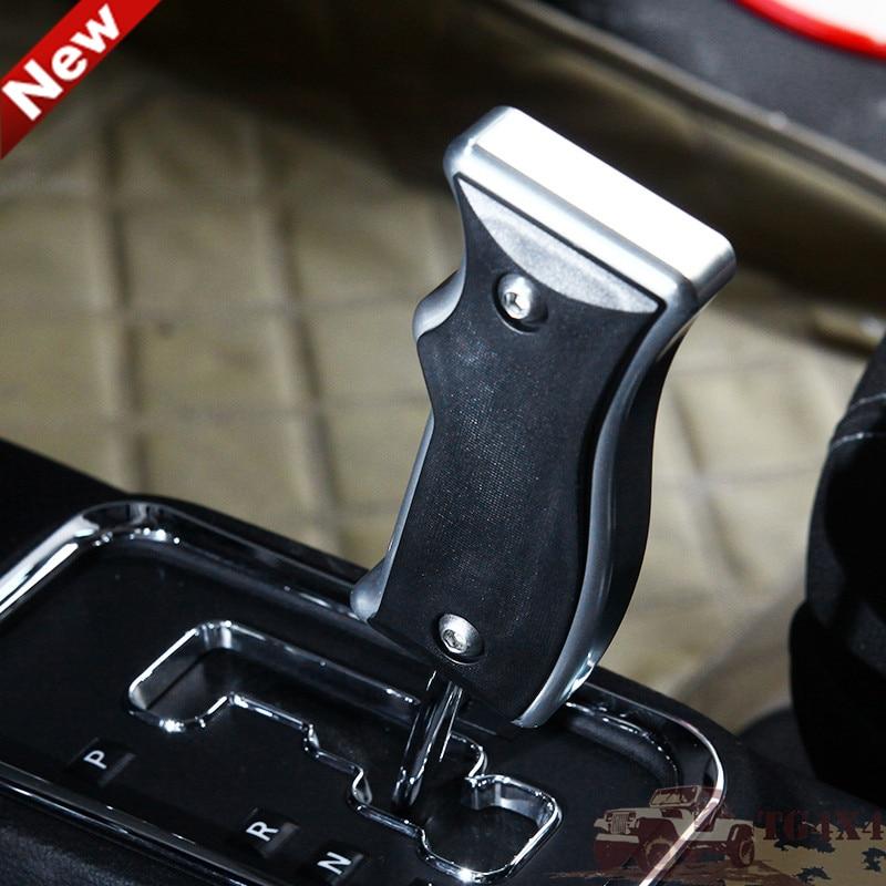 Aluminum <font><b>Gear</b></font> <font><b>Shift</b></font> Knob Bar for JEEP <font><b>Wrangler</b></font> Compass Patriot Dodge JCUV Gearshift Head Replacement