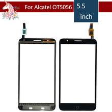 10pcs For Alcatel one Touch Pop 4 plus OT5056 5056 5056A 5056D Touch Screen Digitizer Sensor Outer Glass Lens Panel Replacement alcatel pop 4 plus 5056d blue