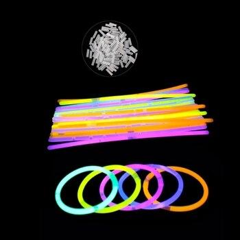 Lueur Pc Multi Bâtons 100 Couleur Fluorescence Lumineux bHED29IeWY
