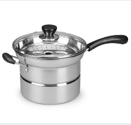 Steamer Kitchen Cabinet Installation Tools Stainless Steel Cooking Pots Multicookings For Steam Fry Stew Accessories Novelty Households