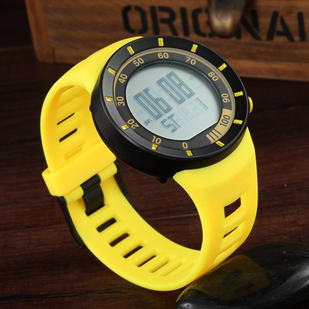 Digitale Uhren Top Verkauf Ohsen Marke Neue Led Digital Display Mens Frauen Outdoor Sport Uhren 50 Mt Wasserdicht Tauchen Gelb Mode Uhr Hombre Herrenuhren