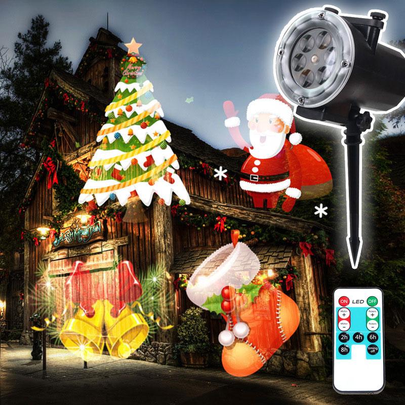 Aliexpress Com Buy Led Christmas Slides Window Projector