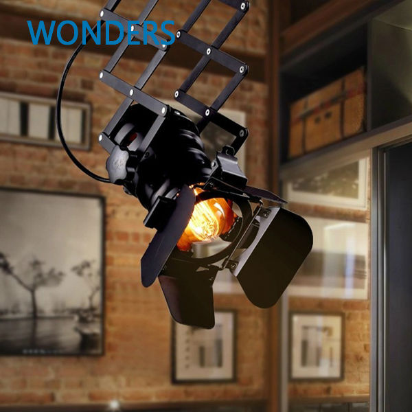 Designer PH loft vintage industrial lighting foldable pendant lamp camera lens shaped Lamp Coffee Bar Restaurant Kitchen Lights напольная акустика canton ergo 670 cherry