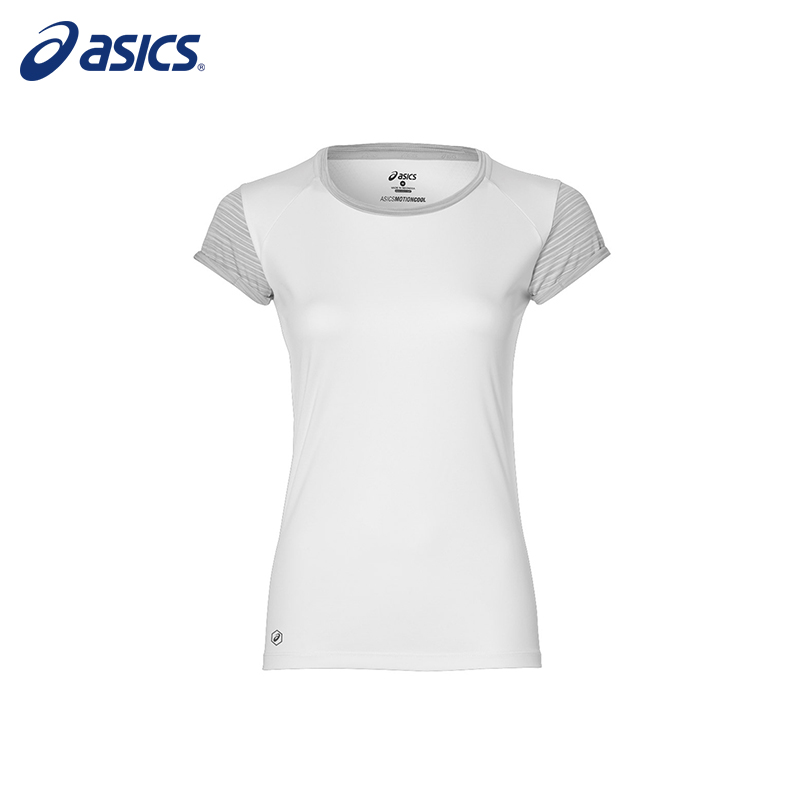 Female T-Shirt ASICS 141255-1020 sports and entertainment for women charming white cami tank and zipper fly bowknot lace t shirt for women