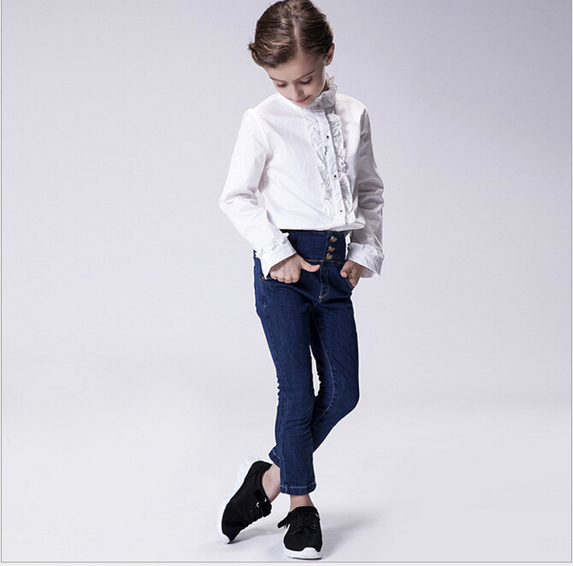 Aliexpress.com : Buy Baby Girls High Waist Jesns Girl Skinny Jean