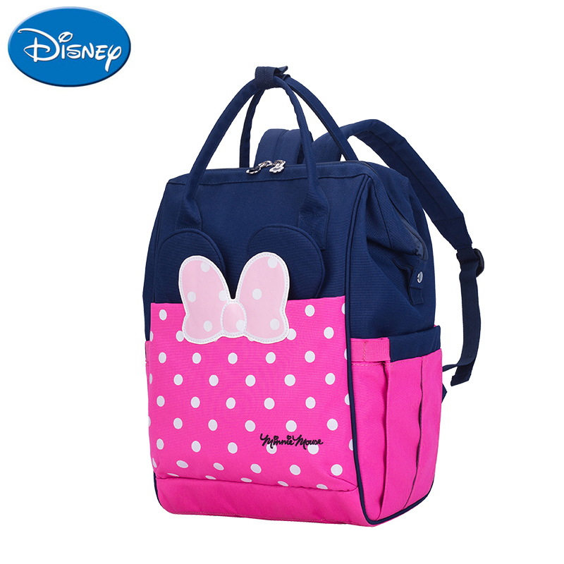 Disney Diaper Bag Backpack Usb Interface Large Capacity Waterproof Nappy Bag Baby Mummy Maternity Travel Backpack For Nursing