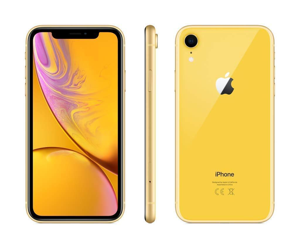 Apple iPhone XR, bande 4G/LTE/Wi-Fi, 64 go de mémoire interne, 3 go de mémoire vive, 15,5 cm (écran 6.1