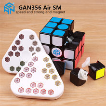 GAN 356 Air SM 3x3x3 with magnetic puzzle magic speed cube professional gans 356 professional cubo