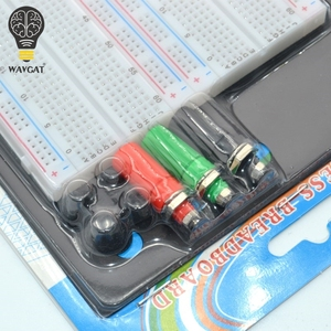 Image 3 - WAVGAT SYB 1660 Solderless Breadboard Protoboard 4 Bus Test Circuit Board Tie point 1660 ZY 204