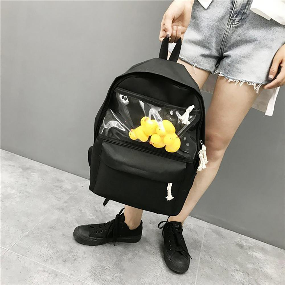 High Quality Women Backpack Solid School Bags For Teenager Girls Casual Travel School Backpack Cute Duck Zipper Shoulder Bag High Quality Women Backpack Solid School Bags For Teenager Girls Casual Travel School Backpack Cute Duck Zipper Shoulder Bag