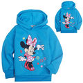 Minnie Mouse Minions Clothes Baby Boys Girls Kid Clothes Spring Autumn Tops Sweatshirt Outerwear Hoodie Jacket Coat