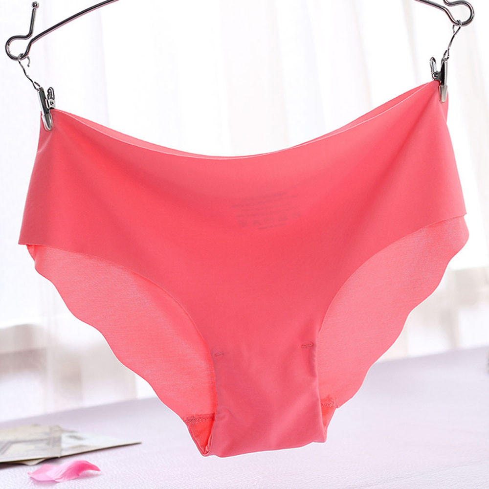 Perspective 1Pc Women Invisible Underwear Underpants Thong Cotton Spandex Gas Seamless -3189