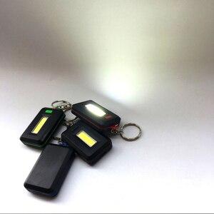 Image 5 - Nowy Mini brelok z latarką LED przenośny brelok lekka latarka breloczek 45 lm 3 tryby awaryjne Camping lampa plecak światło