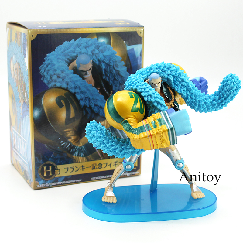 One Piece Franky H 20th Anniversary Starw Hat Pirates PVC Action Figure Collectible Model Toy 15.5cm неоновая продукция amazing 150 el el el 2pcs aa amazingw 118