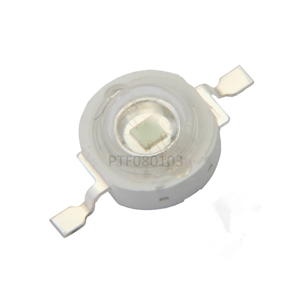 50pcs Freeshipping! 3W 395NM UV LED /Ultra Violet High Power LED Bead Emitter 395-400NM  ...