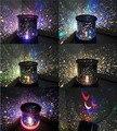 Autorrotación con Music Star la lámpara Del Proyector, LED Luz de la Estrella Principal parpadeante luz de la noche, para enviar a Los Niños amigo regalo de año nuevo