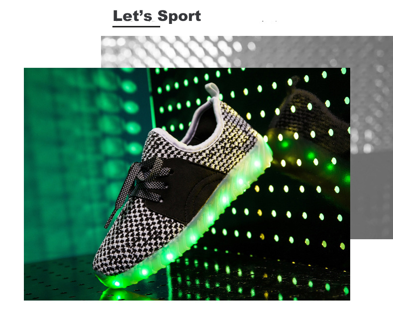 Led Sneakers YZY v2 Kids 13